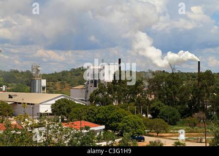 Cork Factory near Silves, Algarve, Portugal - Stock Photo