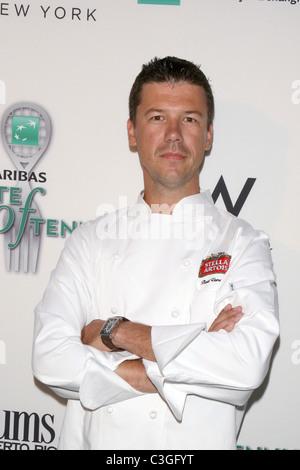 Chef Bart Vandaele of Belga Café 10th annual BNP Paribas Taste of Tennis at the W hotel New York City, USA - 27.08.09 - Stock Photo