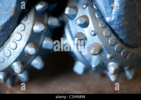 Oil drill bit - Stock Photo