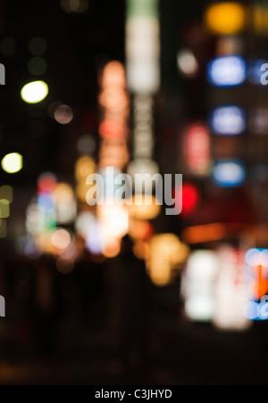 City lights - Stock Photo