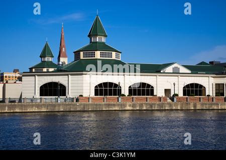 Downtown Joliet, Illinois, USA - Stock Photo