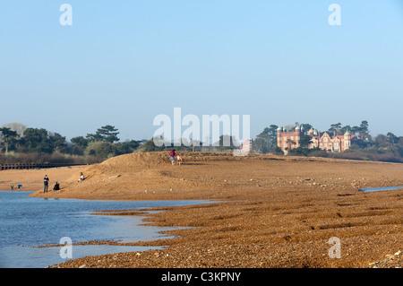 Bawdsey Manor, Suffolk, England. - Stock Photo