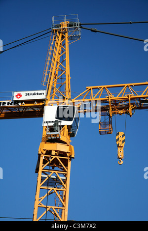 construction of new houses in Holland - Stock Photo