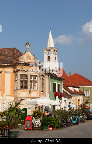 Rust neusiedlersee  Austria, Burgenland, View of rust am neusiedler see Stock Photo ...