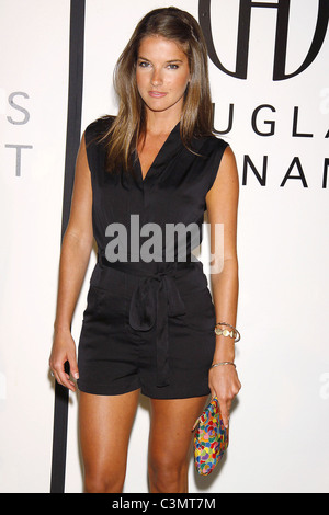 Nicola Mar  The Opening of Douglas Hannant's Flagship Boutique at the Plaza Hotel. New York City, USA - 14.09.09 - Stock Photo