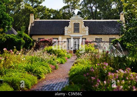South Africa, Western Cape, Somerset West, Vergelegen Wine Estate, homestead. - Stock Photo