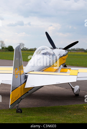 Avions Mundry CAP 232 G-IIAI parked at Breighton Airfield - Stock Photo