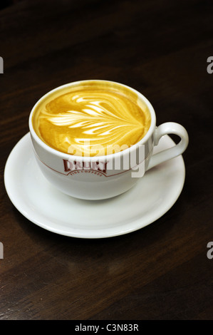 A cup of Drury coffee - Stock Photo