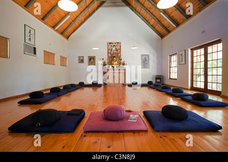 South Africa, Western Cape, Robertson, The Dharma Centre, for Zen Buddhism and Zenchology - Stock Photo