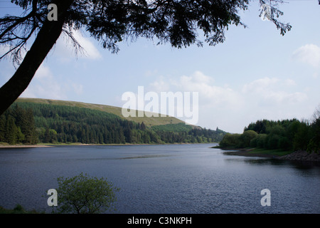 Pontsticill Reservoir in Brecon Beacons National Park, Wales UK 110696 Brecon-Walk