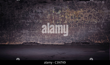 Grunge vintage wall - Stock Photo