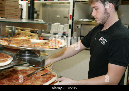 Pizza Parlor Kitchen lakeland florida palace pizza parlor restaurant man preparing food