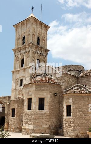 Agios Lazarus Church, where Lazarus is buried, Larnaka, Cyprus - Stock Photo