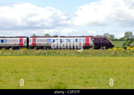 Arriva Cross Country Voyager train - Stock Photo