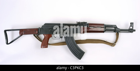 Chinese Type 56-2 assault rifle. Based on the Kalashnikov weapon this pattern is widely exported. - Stock Photo