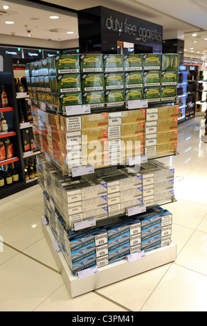 How much are cigarettes in us duty free