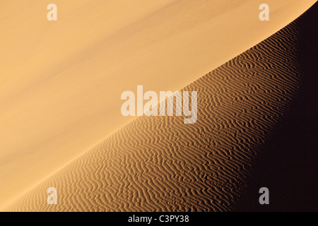 Africa, Namibia, Namib Naukluft National Park, View of sand dunes at the naravlei in the namib desert - Stock Photo