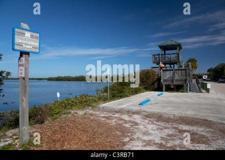J.N. 'Ding' Darling National Wildlife Refuge, Sanibel Island, Florida, USA - Stock Photo