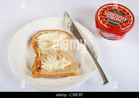 McLelland Seriously Strong cheese spread - Stock Photo