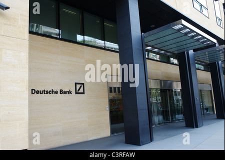 Deutsche Bank, Winchester House, 1 Great Winchester Street, City of London, Greater London - Stock Photo
