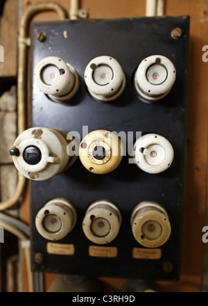 Swell An Old Fuse Box With Cables Old Electrical Panel Electrical Box Wiring Digital Resources Xeirawoestevosnl