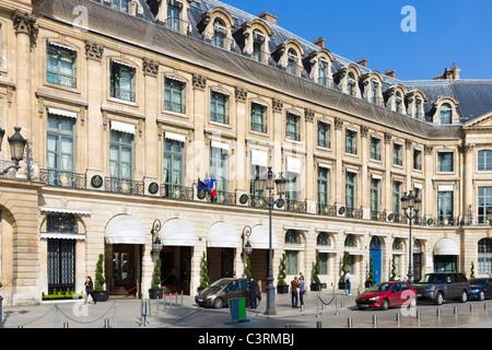 The Ritz Hotel, Place Vendome, Paris, France - Stock Photo