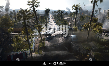 SUBURBAN EARTHQUAKE 2012 (2009) - Stock Photo
