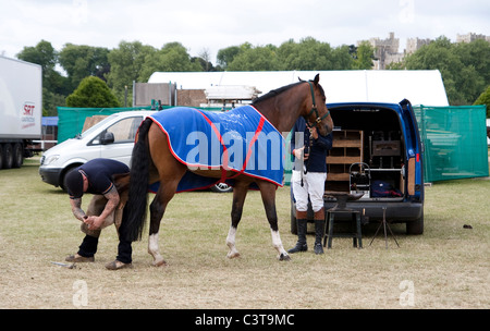 Royal Windsor Horse Show 2011 images - Stock Photo