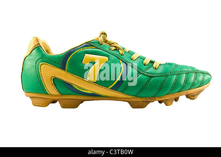 cleat isolated on a white background - Stock Photo