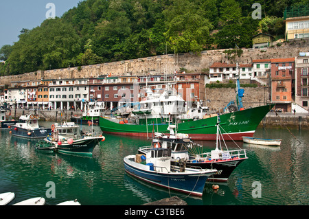 San Sebastian Spain Spanish Basque Country town city - Stock Photo