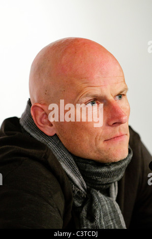Portrait of Norwegian Stale SOLBAKKEN, coach of german Football Bundesliga Club 1.FC Köln, Cologne - Stock Photo