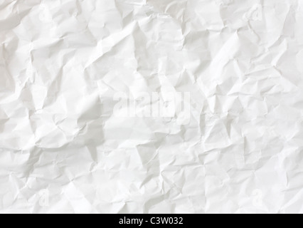 Crumbled paper - Stock Photo