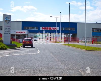 Nissan Plant. Sunderland - Stock Photo