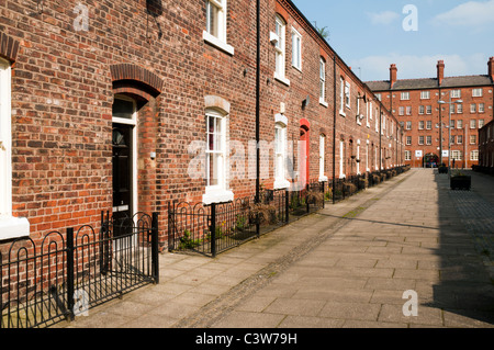 Restored late 19th century terraced houses george leigh for Terrace northern quarter
