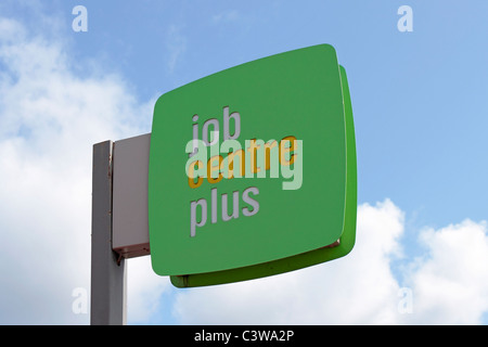 Job Centre Plus Sign - Stock Photo