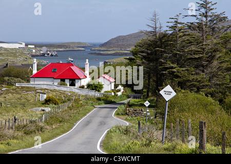 northbay community  isle barra outer hebrides  western isles scotland uk gb - Stock Photo