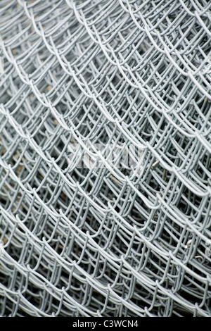 Wire Mesh close up for background - Stock Photo