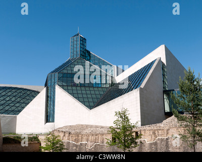 Modern Art Museum MUDAM or Musee d'Art Moderne Grand Duc Jean; Luxembourg City - Stock Photo