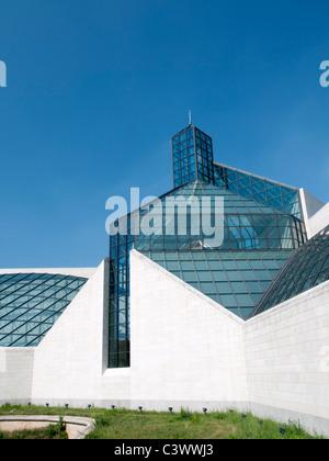 Modern Art Museum MUDAM; Musee d'Art Moderne Grand Duc Jean; Luxembourg City - Stock Photo