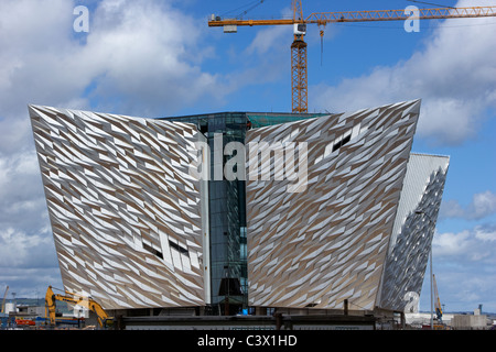 titanic signature project titanic quarter queens island belfast northern ireland uk - Stock Photo