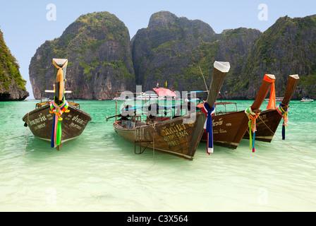 Phi Phi Island, Phuket Thailand 7 - Stock Photo
