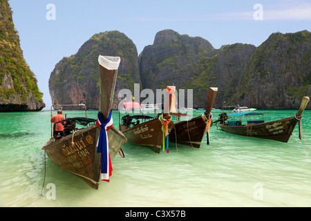 Phi Phi Island, Phuket Thailand 4 - Stock Photo