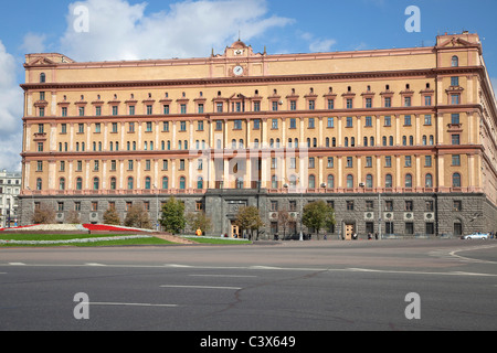 Lubyanka in Moscow, Russia - Stock Photo