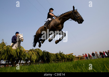 2011, Horse Racing, Isle of Wight, Grand National, Scurry, Ashey, Ryde, UK - Stock Photo