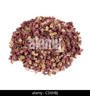 Szechuan pepper Cut Out - Stock Photo