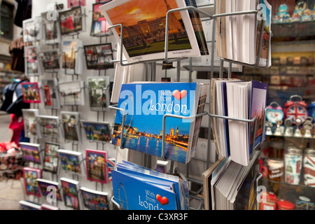Postcards of London - Stock Photo