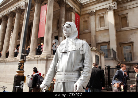 The National Gallery, London. - Stock Photo