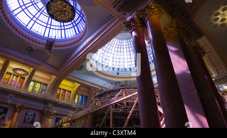 Skylights at Royal Exchange Theatre, Manchester - Stock Photo