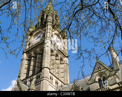 Manchester Town Hall, Albert Square, Manchester - Stock Photo