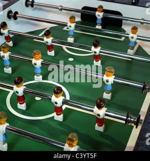 Fussball table, tabletop football/ socce - Stock Photo